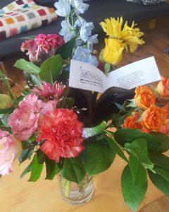 Bloemen van Floor voor TekstBaken, correctie masterscriptie